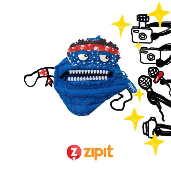 Zipit Talking對話怪獸拉鍊包-(小)藍