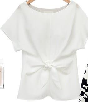 *魔法之城*CC11254新款中大尺碼寬鬆雪紡衫短袖薄T恤