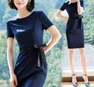 新款顯瘦氣質職業裙裝 OL修身洋裝(四色/七碼可選)