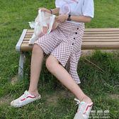 格格裙子女款及膝半身裙夏女高腰韓版怪獸同款裙子學生bf 可可鞋櫃