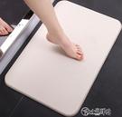 地毯 硅藻泥腳墊家用衛生間防滑墊浴室門口吸水地墊硅藻土吸水墊 NMS