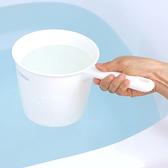 日本LEC銀離子抗菌防汙水勺(白色)