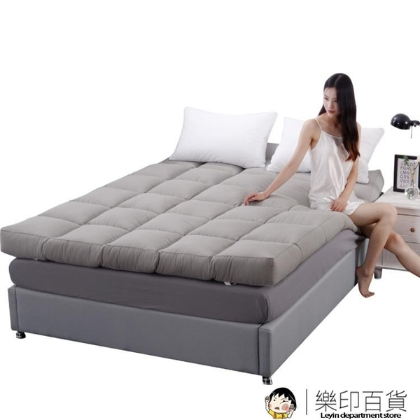 單人床墊 加厚軟榻榻米單雙人床褥子1.5m床1.8m床學生宿舍床褥墊被地鋪【樂印百貨】
