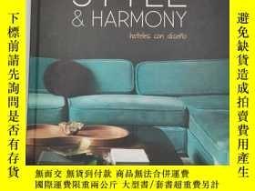 二手書博民逛書店Style:罕見harmony hoteles con dise