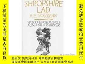 二手書博民逛書店A罕見Shropshire Lad 豪斯曼 最著名詩集《西羅普郡