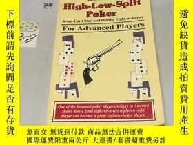 二手書博民逛書店英文原版;High-Low-Split罕見Poker, Seve