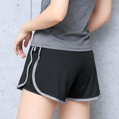 跑步速干高腰運動短褲女
