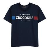 『小鱷魚童裝』印花圓領上衣(08號~18號)555404