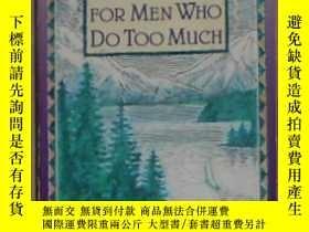 二手書博民逛書店原版罕見Meditations for Men Who Do T