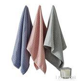 三條裝日繫條紋紗布純棉毛巾成人吸水洗臉巾家用情侶全棉面巾柔軟·ifashion