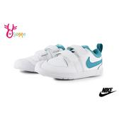 NIKE PICO 5 (TDV) 小童 寶寶休閒鞋 小白鞋 魔鬼氈穿搭板鞋 運動鞋 P7164#白綠◆OSOME奧森鞋業