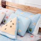 西瓜甜涼感枕頭墊2入組-藍-生活工場