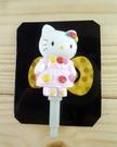 【震撼精品百貨】Hello Kitty 凱蒂貓~KITTY耳機防塵塞-玫瑰裙