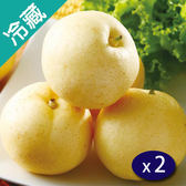 【台灣】黃金新世紀梨4入(1.1Kg±10%)/盒X2【愛買冷藏】