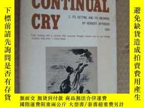 二手書博民逛書店稀有書罕見ONE CONTINUAL CRY:1 David W