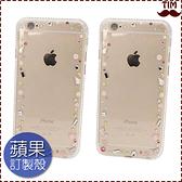 蘋果 IPhone12 12Pro 12mini IPhone11 SE XR XS Max IX I8 Plus I7+ I6S 甜心糖果 手機殼 保護殼 水鑽殼 透明 邊鑽