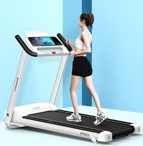 跑步機 跑步機家用款小型簡易折疊超靜音室內健身房電動平板走步 晟鵬國際貿易