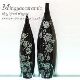 陶瓷 家居裝飾品 簡約花瓶 花器 時尚陶瓷擺件 工藝品