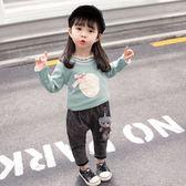 女寶寶加絨打底衫冬女童小童洋氣嬰幼兒保暖上衣秋裝外穿