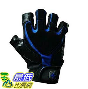 [美國直購] Harbinger 藍條紋 Training Grip B01HK1CWES  Leather Palm Weightlifting Gloves, Pair (S-XXL)