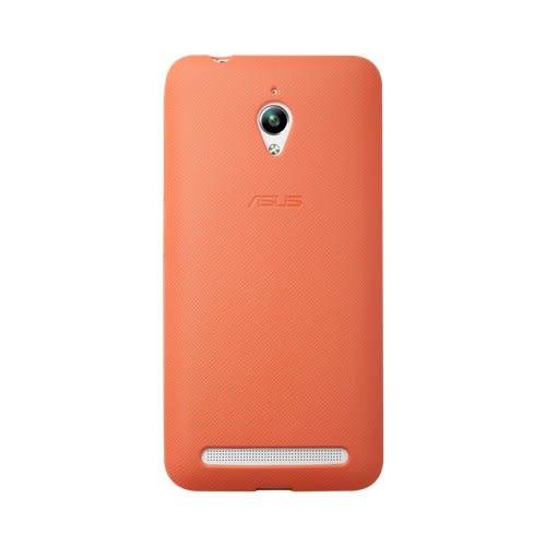 {新安} 買一送一 ASUS Zenfone GO ZC500TG BUMPER CASE 原廠防震套 手機套 手機殼 保護殼 保護套 (橘)