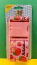 【震撼精品百貨】Rilakkuma San-X 拉拉熊懶懶熊~拉拉熊行李束帶-粉草莓#70990