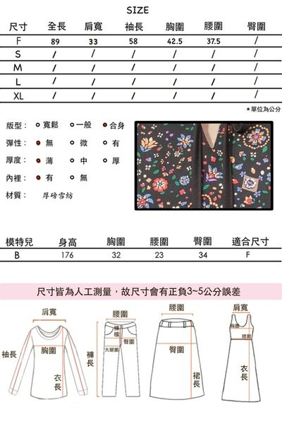 【EIIZO】圖騰縮腰印花洋裝(藍)
