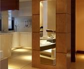 居家鏡子 美顏穿衣鏡免打孔黏貼掛牆寢室無框學生宿舍【免運直出】