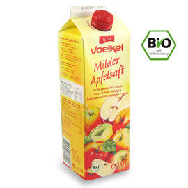 維可 德國 有機蘋果汁 ( 1000毫升)12瓶 Bio認證