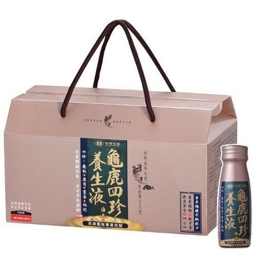 台塑 龜鹿四珍養生液 50mlX14瓶/盒*6-箱購優惠