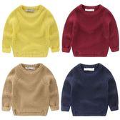 男童針織衫套頭毛衣新款春秋裝秋冬裝童裝 萬客居