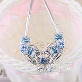 韓國U型發簪盤發頭飾 發插簪子 發梳 發夾新娘發飾  米蘭shoe