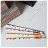 《不囉唆》水果系列 HB環保鉛筆 水果/可愛/文具/鉛筆/橡皮擦/木頭(不挑色/款)【A411993】
