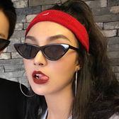 韓版潮復古原宿貓眼墨鏡女新款嘻哈歐美太陽鏡女ins眼鏡 全館免運