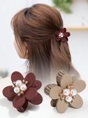 髮抓頭髮夾子正韓抓夾小號劉海頂夾花朵成人頭飾品女髮夾正韓髮卡髮抓
