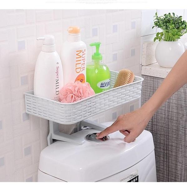 尺寸超過45公分請下宅配創意多功能置物架吸壁式浴室馬桶雜物收納