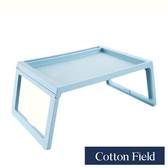 棉花田【波林】多功能輕巧折疊桌-2色可選石藍色