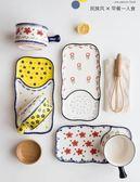 摩登主婦日式民族風手繪一人食陶瓷餐具套裝家用西餐盤早餐盤菜盤