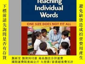 二手書博民逛書店Teaching罕見Individual Words: One