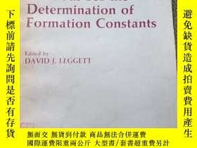 二手書博民逛書店Computational罕見Methods for the Determination of Formation