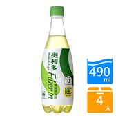奧利多纖維氣泡飲490ML x4入【愛買】