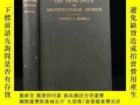 二手書博民逛書店1907年罕見建築設計理論 165整頁與大量文間插圖 漆布精裝18開Y11827 Percy L Marks