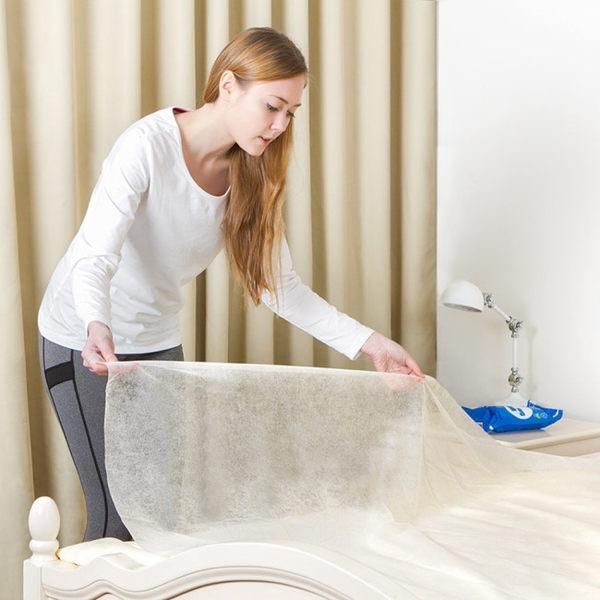 《SAFEBET》出差旅行用免換洗不織布一次性床單(雙人)