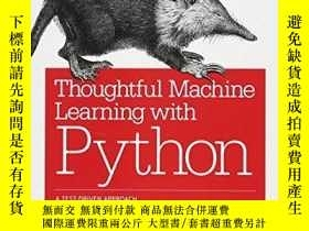 二手書博民逛書店Thoughtful罕見Machine Learning With PythonY364682 Matthew