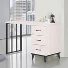【森可家居】北歐刷白工業風4尺書桌 8SB229-2 辦公桌 木紋質感 MIT 台灣製造