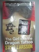 【書寶二手書T6/原文小說_NCH】The Girl with the Dragon Tattoo_Stieg Lars