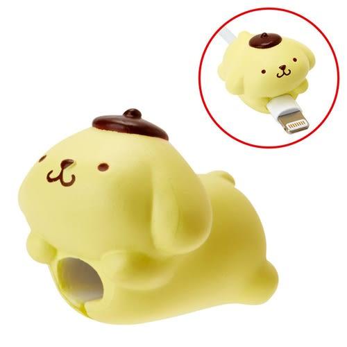 Sanrio 布丁狗 日本 Cable Bite iPhone 手機 充電線保護套 保護充電線 咬線器_818119