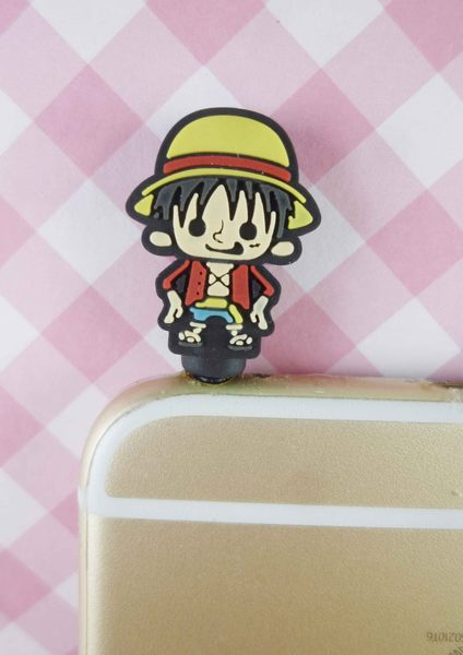【震撼精品百貨】One Piece_海賊王_耳機防塵塞-魯夫
