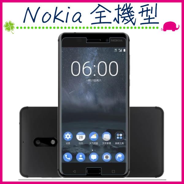 Nokia 全機型 鋼化玻璃膜 諾基亞8 Nokia6 Nokia5 9H硬度 無滿版 螢幕保護貼 高清 防刮鋼化膜 (正面)