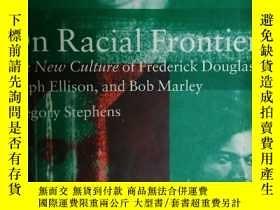 二手書博民逛書店英文原版:On罕見racial frontiersY318641